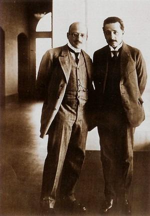 Fritz Haber and Albert Einstein