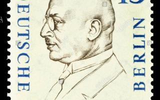 Fritz Haber Postage Stamp